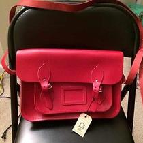 Red Cambridge Satchel Bag  Photo