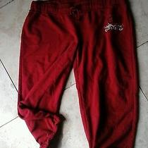 Red Capri Sweats Photo