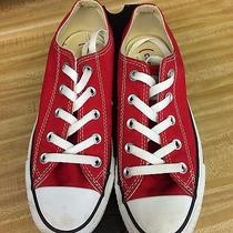 Red Converse Size 6 Photo