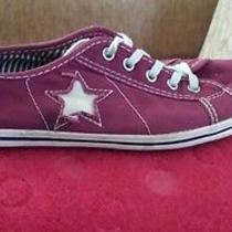 Red Converse Size 8 Photo