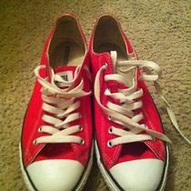 Red Converse Sneaker Photo