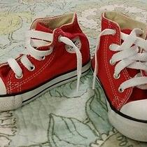 Red Converse Sneakers Photo