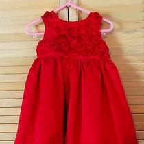 Red Dress Carter's 12 Months Photo