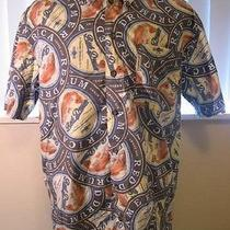 Red Drum Amber Ale  Fish  Themed Casual Shirt  Columbia Sportwear   Size Large  Photo