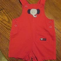 Red Elephant Overalls Photo