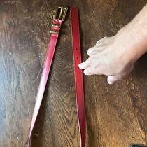 Red Escada Belt - Size 42 Photo