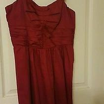 Red Express Brand Prom or Bridesmaid Dress Photo