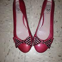 Red Flats With Spike Bowtie Photo