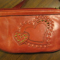 Red Fossil Wristlet Photo