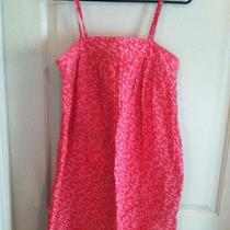 Red Gap Floral Summer Dress Size Small Photo