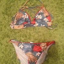 Red Guess Bikini Size Large Photo