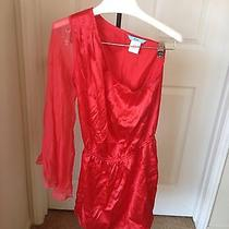 Red Guess by Marciano Dress Size S/p Nice Photo