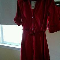 Red h&m Red Dress Size 6 With Pockets Photo