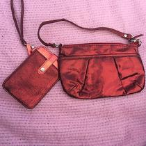 Red Hand Bag With Cell Phone Case - Avon Photo