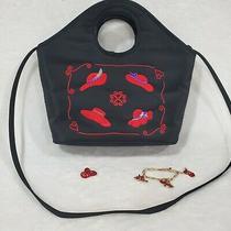 Red Hat Society Ladies Purse/handbag  Avon Bracelet  and Pin Photo