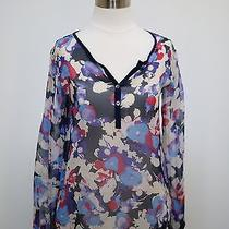 Red Haute Top Blouse Shirt Top Xs Photo