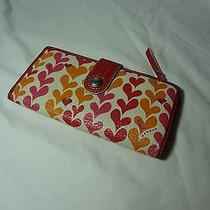 Red Heart Fossil Wallet  Photo