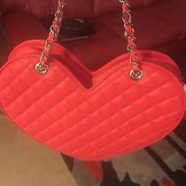 Red Heart Shaped Bebe Purse Photo