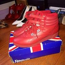 Red High Top Reeboks Photo