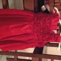 Red Holiday Size 9mth Baby Girl Dress Photo