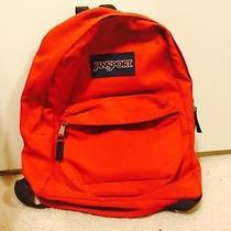 Red Jansport Backpack Photo