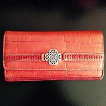 Red Leather Brighton Wallet Photo