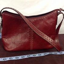 Red Leather Fossil Purse Photo