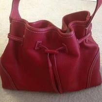 Red Leather Nordstrom Bag  Photo