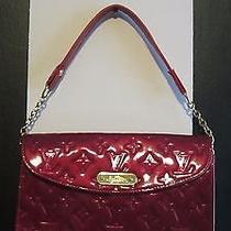 Red Louis Vuitton Monogram Vernis Sunset Boulevard Handbag/shoulderbag Photo