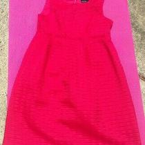 Red Max and Cleo Empire Waist Mini Dress Size 2 Photo
