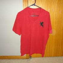 Red Medium Express Polo Large Lion Photo