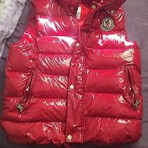 Red Moncler Vest Photo