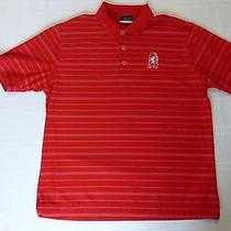 Red Nike Fit Dry Golf Polo - Youth Size L (14-16) - St. Ives Golf Club Photo