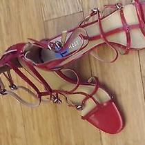 Red Nine West Strappy Photo