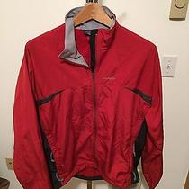 Red Patagonia Lightweight Biking Jacket Large Photo