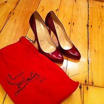 Red Patent Leather Louboutins  Photo