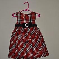 Red Plaid Dress by Camilla/ Size 24 Months Photo