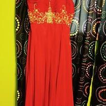 Red Prom or Graduation Dress Photo
