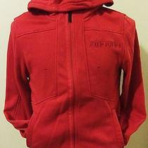 Red Puma Ferrari Scuderia Zip Front Hoodie Two Pocket Size M Cotton/poly Blend Photo