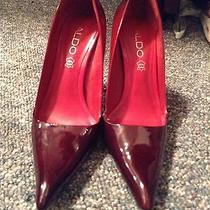 Red Pumps Size 8 Photo
