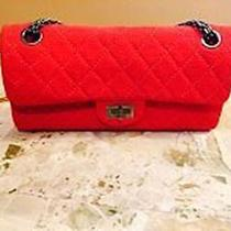 Red Quilted Chanel Bag Photo