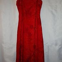 Red Rampage Prom Dress Size Small Photo