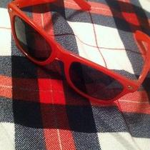 Red Ray Ban Sunglasses Photo