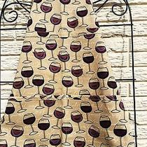 Red Red Wine on This Adult One Size Apron Original by Zippidy Kids Photo