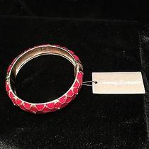 Red Snakeskin Pattern Bracelet by Tommy Bahama Photo