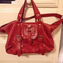 Red the Sak Leather Purse Photo