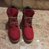 Red Timberlands  Photo