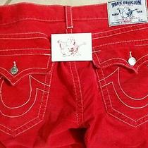 Red True Religion Straight Jeans34x34true Religion Gift Card With 11.00 Photo