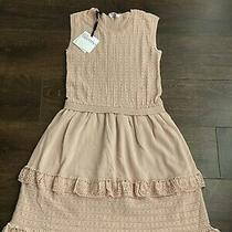 Red Valentino Dress for Women Nude Color Size M Nwt 695 100% Cotton Photo