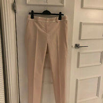 Red Valentino  Twill Trousers Powder Pink Blush Size It 44 Uk 12rrp  375 Photo
